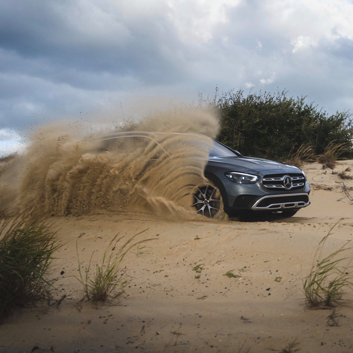 """4"" when you want to kick some dust up 😉  2021 @MercedesBenz E-Class All-Terrain https://t.co/tJlMHdq1qk"