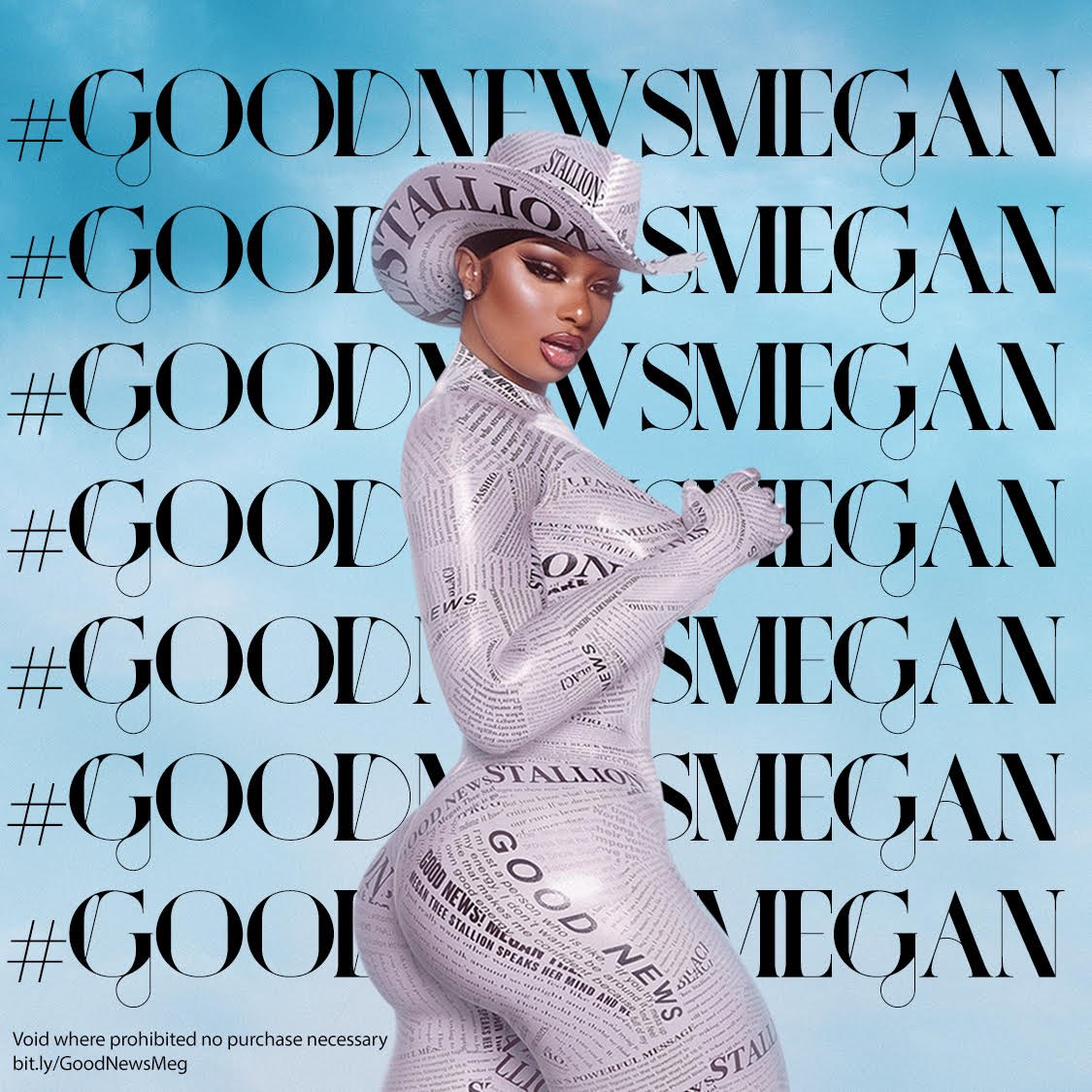 Hotties let's celebrate the GRAMMY nominations and my new album!!! Drop your cashapp and #GoodNewsMegan to win some $$$ Stream Good News here: ()