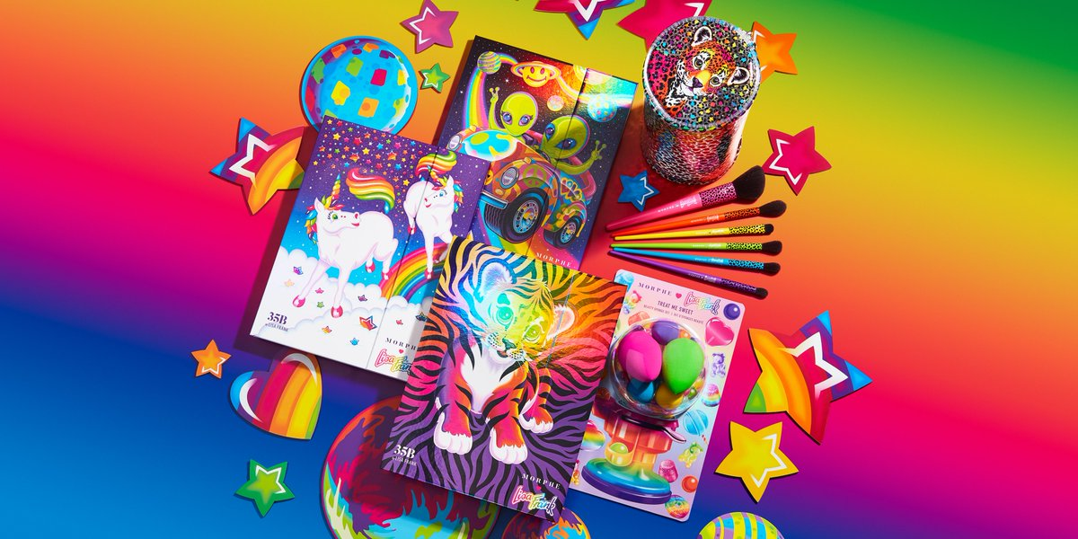 Morphe On Twitter The Morphe Lisa Frank Is Now Available On Https T Co Tauaf4i4wx Select Morphe Stores Forrest Prancing Unis And Zoomer Zorbit Covers Sephoracanada Selfridges Ultabeauty In Stores Online For decades, lisa frank has spread rainbow happiness and sparkling joy with millions of fantastic products. select morphe stores