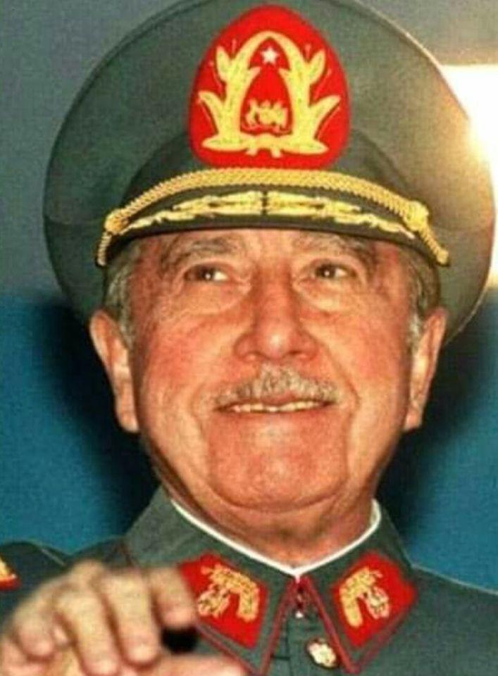 RT @PanteraDeChile: General Libertador Augusto Pinochet. El último gran estadista chileno. https://t.co/mSpZOpqTVQ
