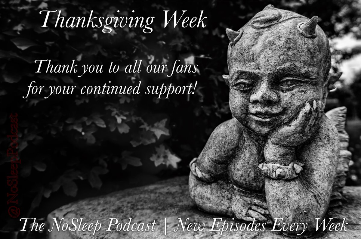 We're taking this whole week to thank our fans for their ❤️ & support.   #HappyThanksgiving #FanAppreciation #StaySleepless #HorrorFamily #TacoTuesday