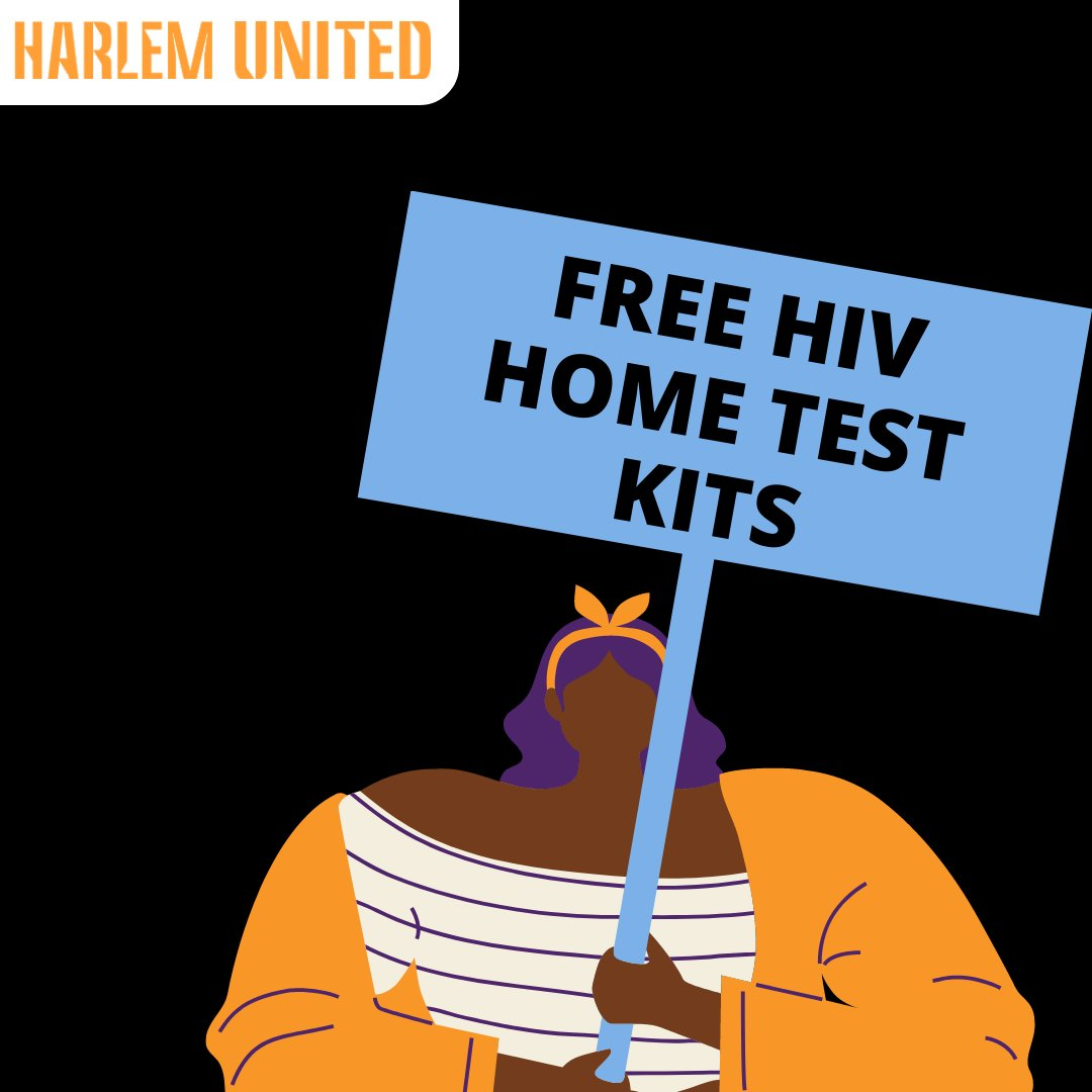 Get an #HIV Home Test Kit mailed directly to your home — it's confidential and free! Contact us at 646-785-9699 or email jpetty@harlemunited.org to receive your kit.  #TestAtHome #HIVTest #StayHome
