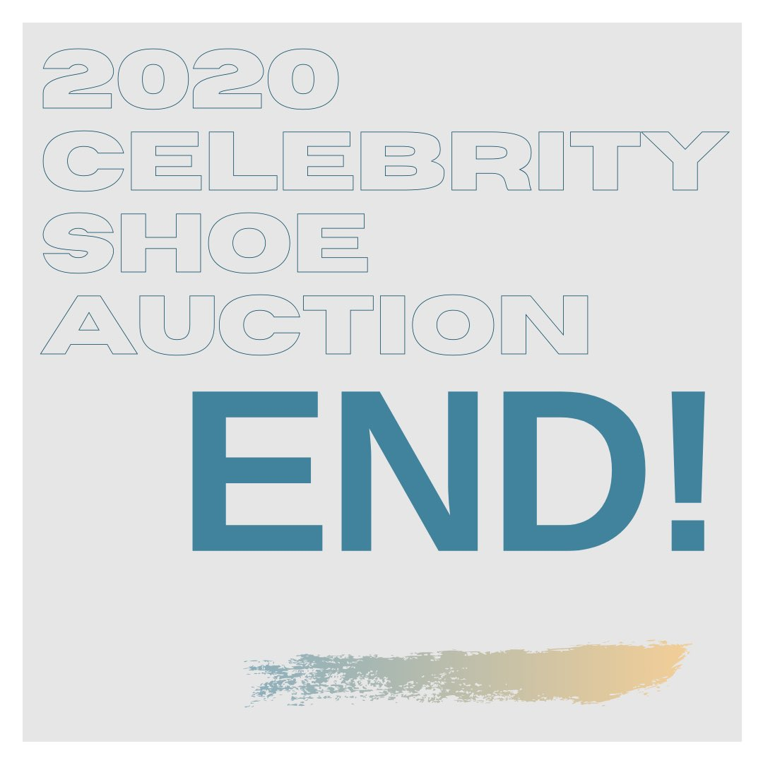 This years #CelebrityShoeAuction has now come to an end!✅  Thank you to everyone who donated their shoes and to everyone who purchased one of our 44 pairs of shoes we had this year...!👠👟  💯 % of profits raised will go to children living in inhuman conditions on rubbish dumps!