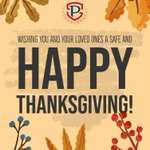 Image for the Tweet beginning: Happy Thanksgiving! 🦃