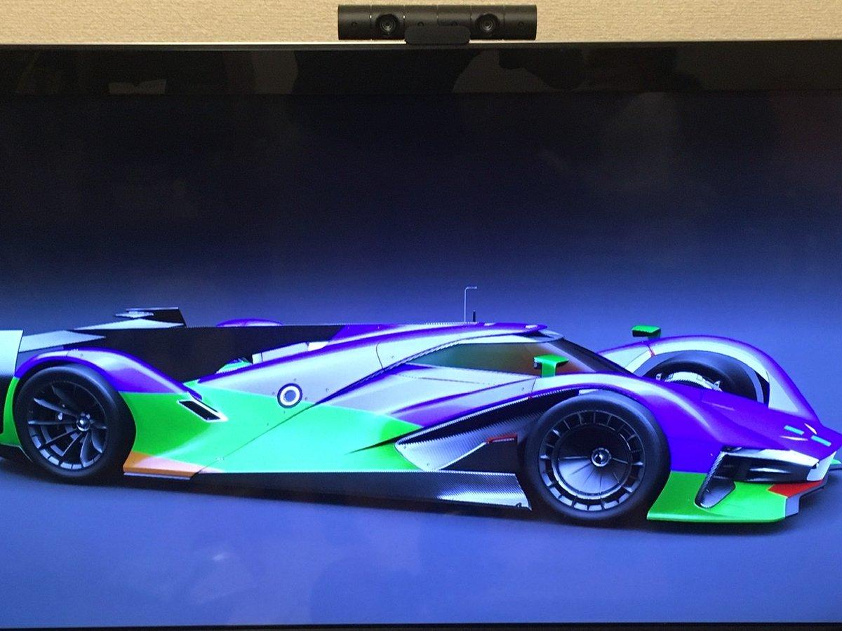 チビがセコセコ作っていたレースカーのカラーリング。エヴァじゃん… #GT #エヴァンゲリオン  #スーパーカー https://t.co/49PzdAIf9M