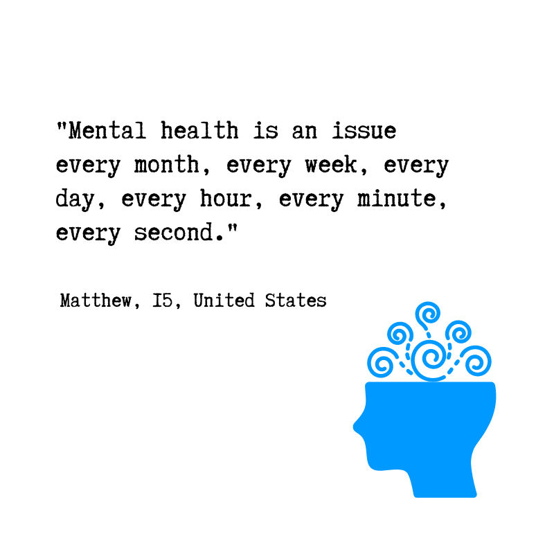 Mental health is a part of life — for ALL of us.  What are your top tips for taking care of your wellbeing?   From @voicesofyouth - our community for youth, by youth.