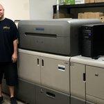 Image for the Tweet beginning: Verpackungsdrucker aus Nordamerika investieren in
