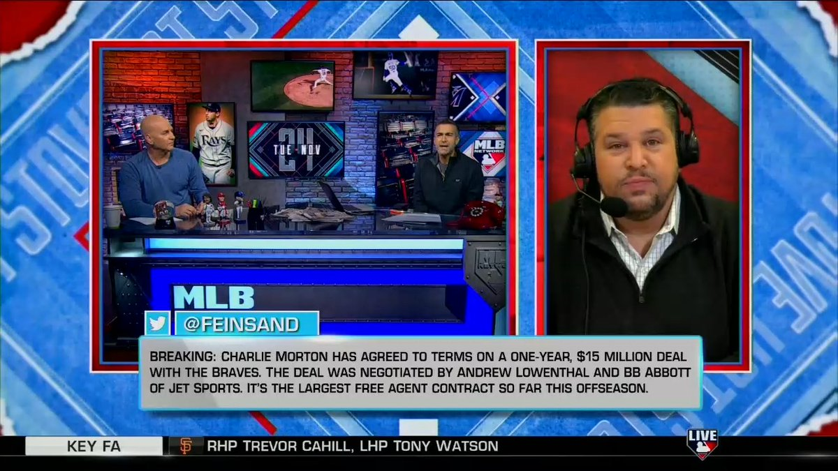 @MLBNetwork's photo on Charlie Morton