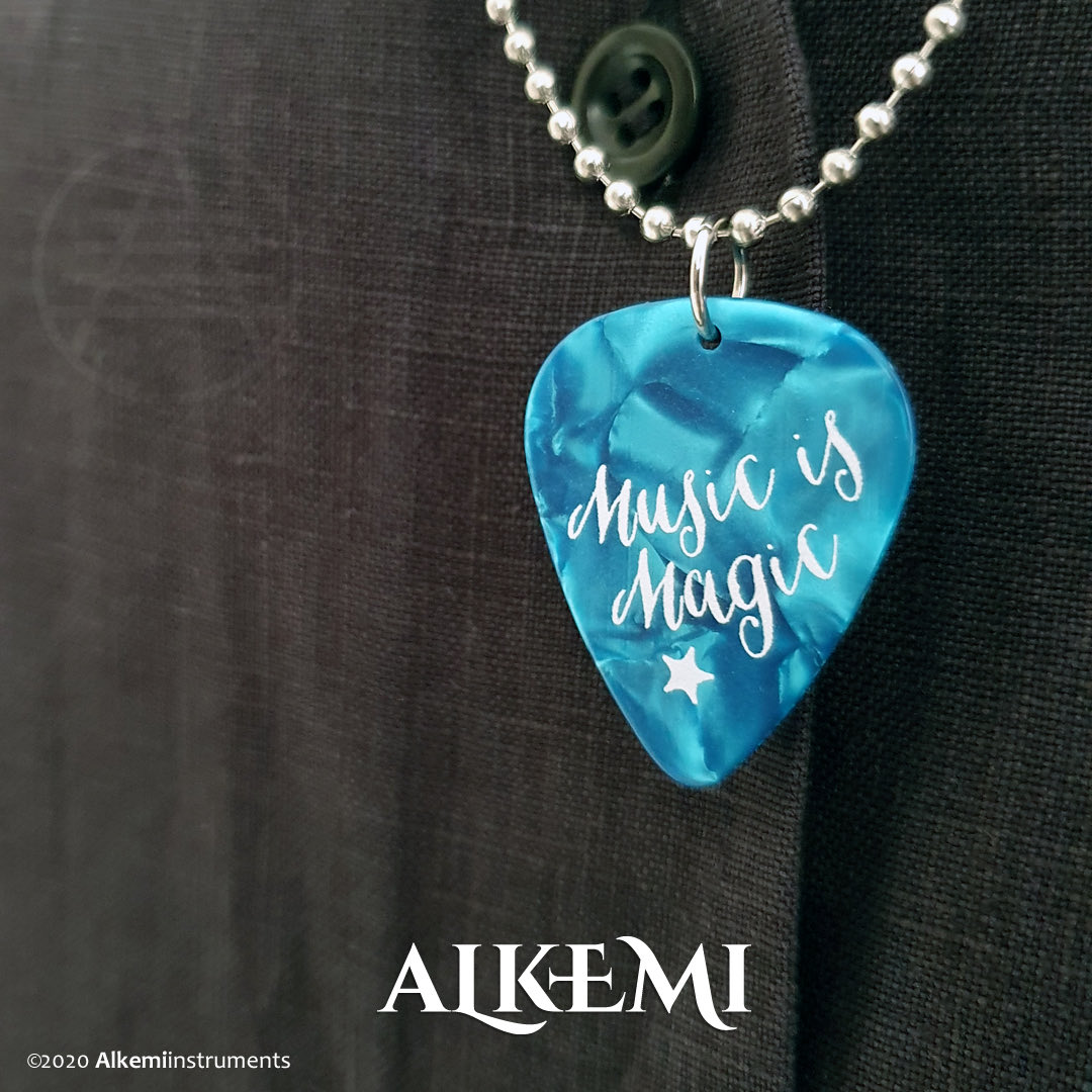 Need a gift for a music lover? Carry the spirit of magic with you everywhere!  #alkemiinstruments #music #musicismagic