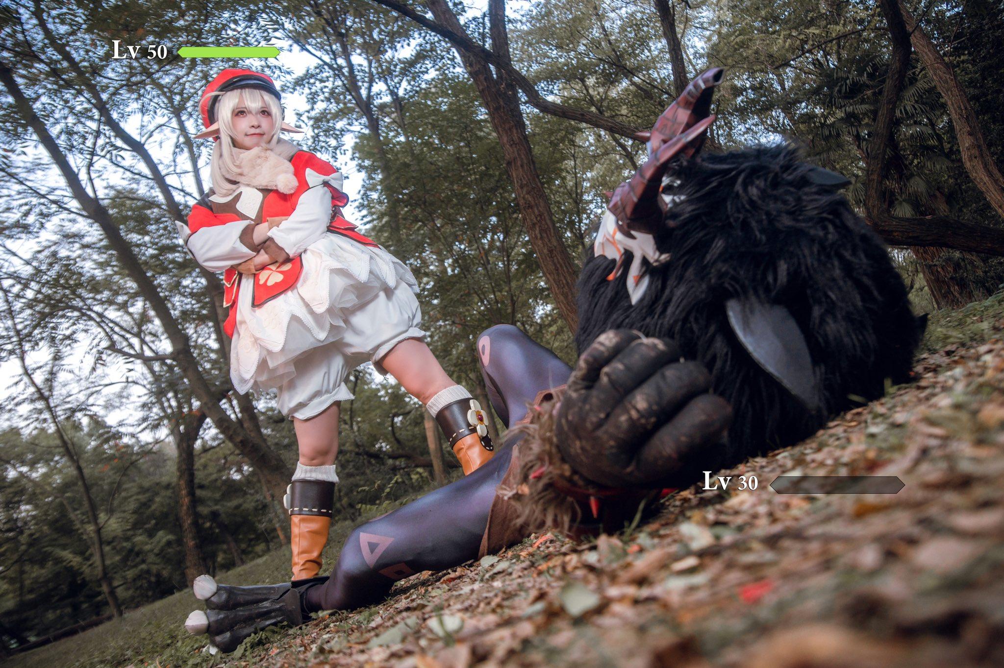画像,クレー  コスプレklee  cosplay(2/2)#Genshin#klee #原神 https://t.co/F7Qk8BTqBy…