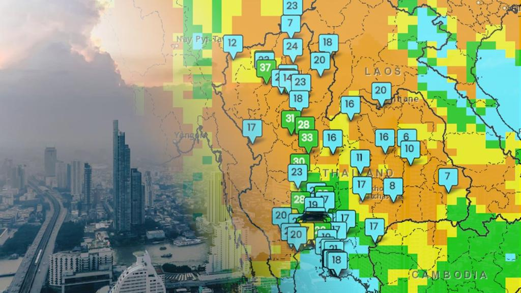 In Thailand, a new app for tracking and forecasting air pollution—developed by the Thai government in collaboration with @SERVIRGlobal, using @NASA satellite data—could potentially help millions breathe easier >>