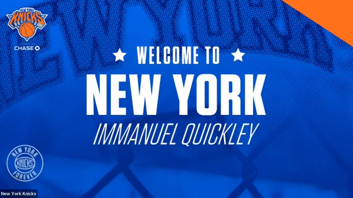 Tune in to watch Immanuel Quickley's roundtable interview with MSG AM's @McNuttMonica. Only on our YouTube channel!  📺