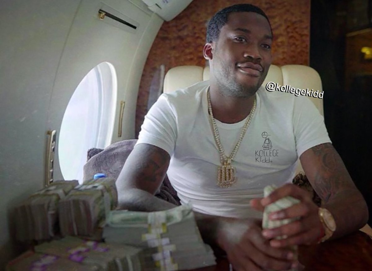 """Replying to @KollegeKidd: """"One good year can change your whole life."""" - Meek Mill"""