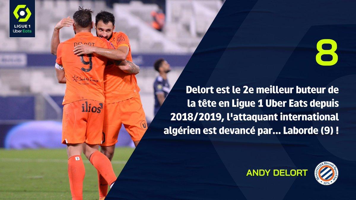 Buteur de la tête avec @LesVerts 🇩🇿 pendant la trêve, Andy Bouzelouf 🐏 s'est de nouveau montré très adroit ce week-end en inscrivant 2 buts de la tête, et son premier doublé de la saison 😉 !  🧐 Retour sur ce match fou #MHSCRCSA (4-3) ➡ https://t.co/ye0l6DlO7O https://t.co/kGZlpGQEX4
