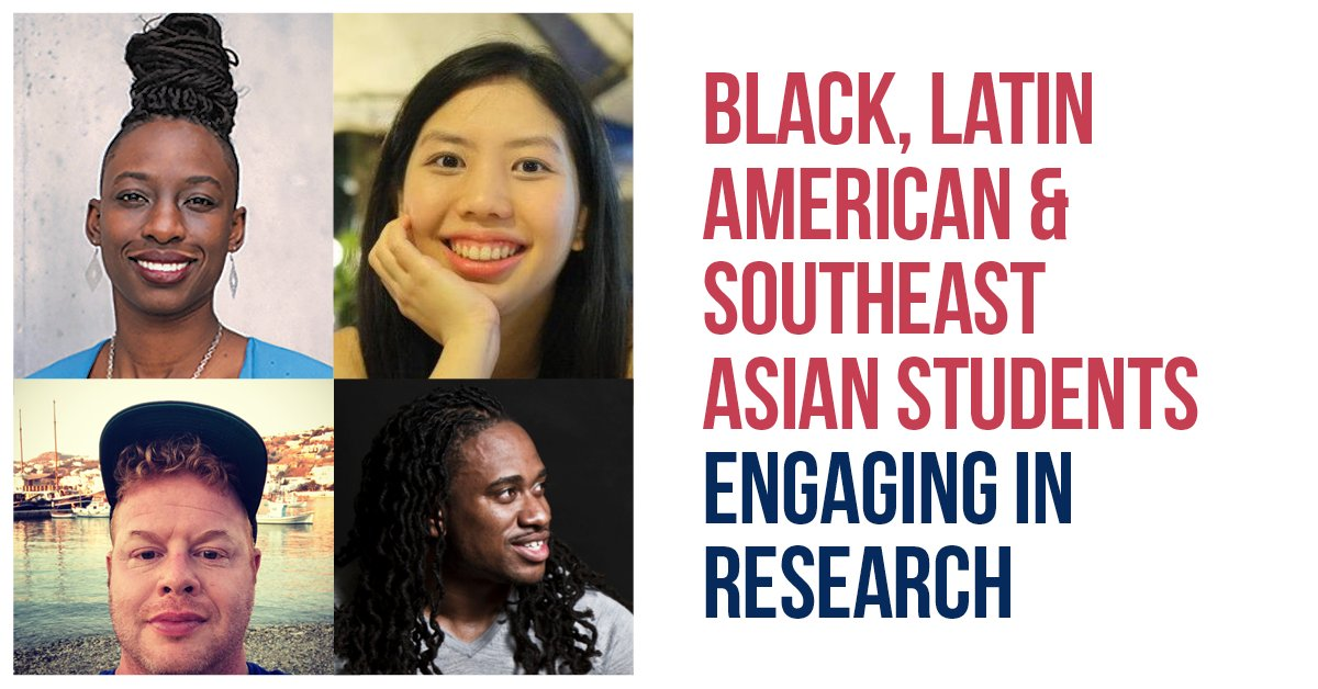 Access & Inclusion Peer Programs presents Black, Latin American & Southeast Asian Students Engaging in Research — online workshop next Friday, Nov. 27, 3-5pmET. Speak with supportive professors, staff & mentor navigators. Register here:  #UofT