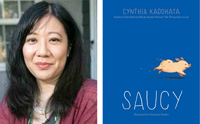 test Twitter Media - Welcome Cynthia Kadohata to our Virtual Book Tour! The award-winning author stops by to talk about her latest middle grade novel, Saucy. Visit our blog for an exclusive author recording and teaching resources. https://t.co/5JDPUjuLgc @SimonKIDS @simonschuster https://t.co/verrXIdA4d