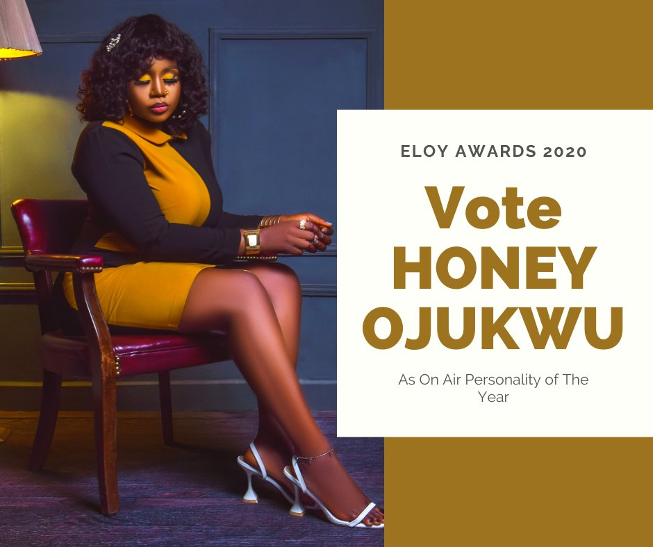 "Let's keep voting for @TheRadioLioness to clinch ""OAP Of The Year"" @eloyawards as a #FearlessWoman that she truly is!!!  VOTE NOW:    #EloyAwards2020 #OAPofTheYear #tuesdayvibe"
