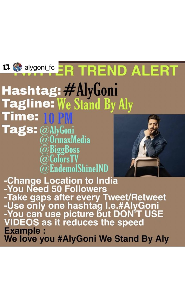 TREND ALERTTT 🚨🚨🚨  We Stand By Aly  #AlyGoni #alygoniinbb14 #bb14 #BiggBoss14