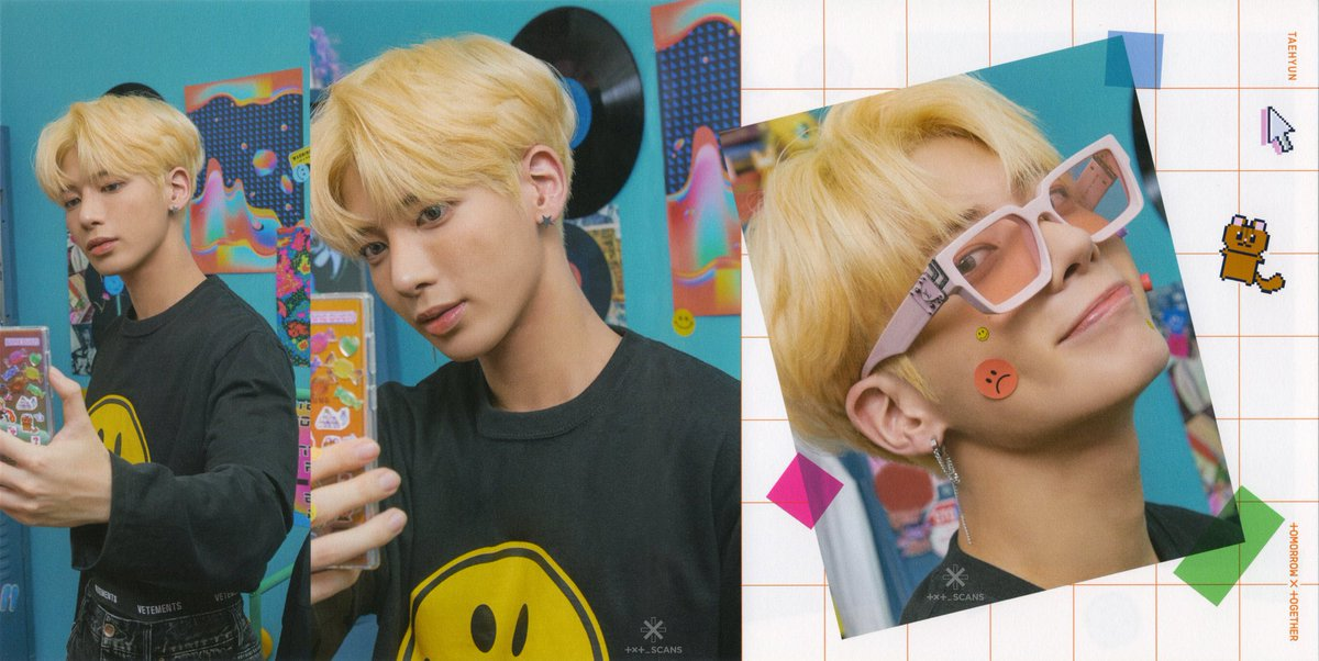 📸 | SCANS da versão R - #TAEHYUN.   © txt_scans #TXT     #BlueHour     @TXT_members
