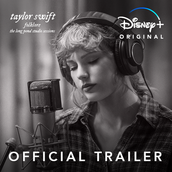 Tomorrow, you're invited to an intimate concert of the record-breaking album from @TaylorSwift13. folklore: the long pond studio sessions, an Original Film, is streaming Nov. 25 exclusively on #DisneyPlus. #folkloreOnDisneyPlus