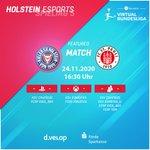 Image for the Tweet beginning: Holstein Kiel - FC St.