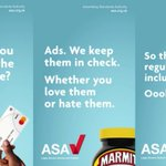 Image for the Tweet beginning: The @ASA_UK's campaign reminds consumers