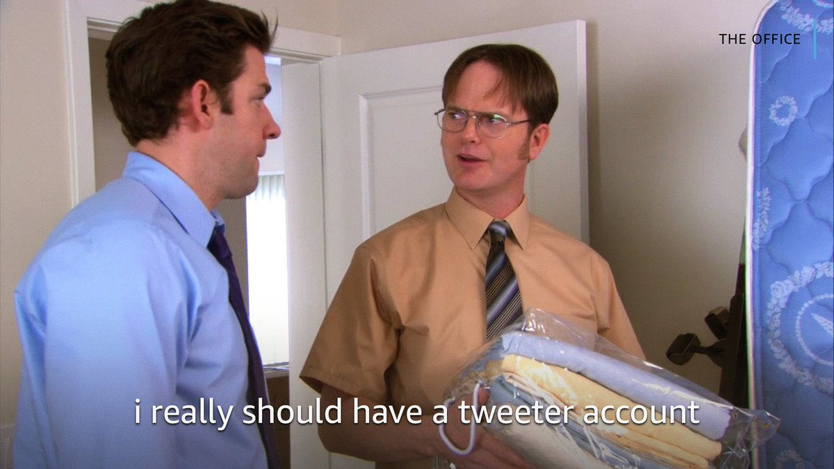 """and the bio would say """"bears   beets   battlestar galactica   assistant regional manager, dunder mifflin"""""""