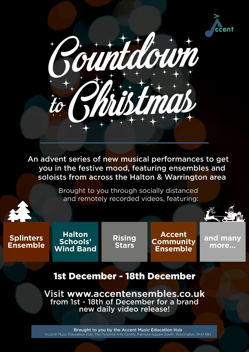 Accent Music Education Hub On Twitter Accent Music Education Hub Look Out For Our Christmas Countdown Starting On December 1st When Accentensembles New Website Https T Co Wiz9bld3nl Will Go Live A Performance A Day