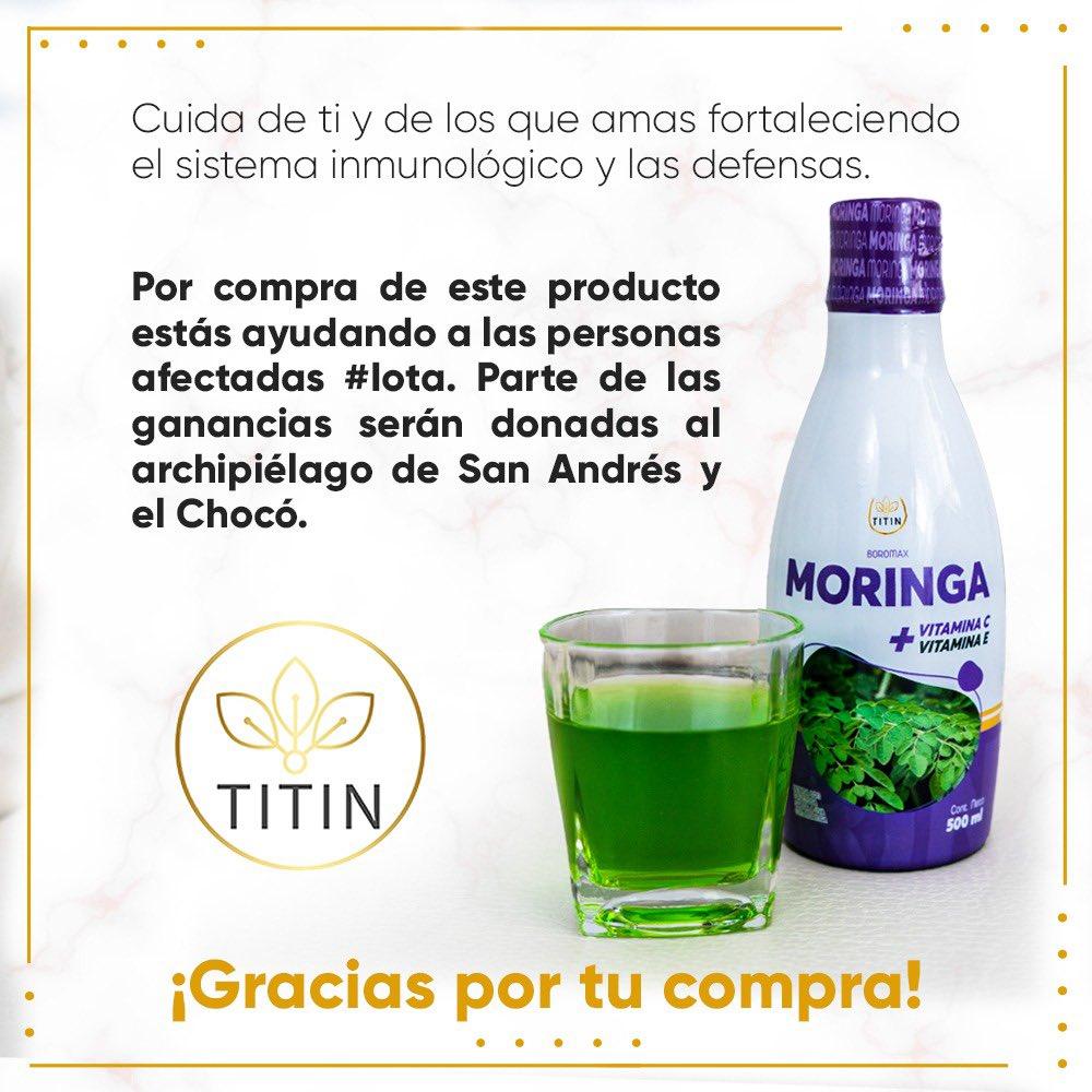 Unidos somos más fuertes , por la compra de nuestra Moringa con Vitamina C , puedes ayudar a los damnificados por el #huracanlota #UnidosPorElArchipielago síguenos en Instagram @ titinstoree 📲3177368923