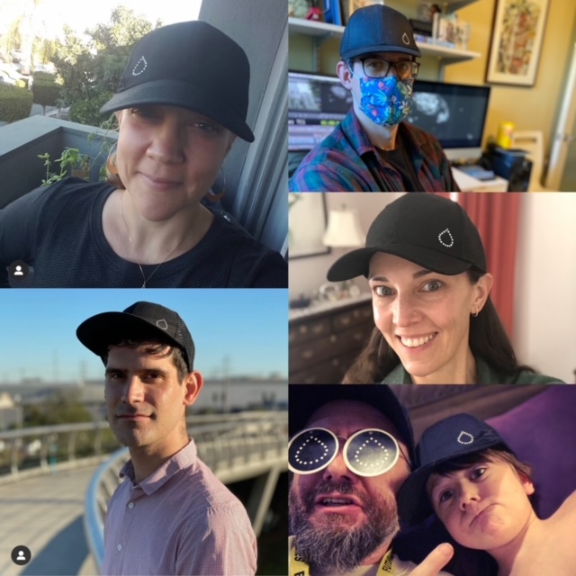These are the folks who work tirelessly behind-the-scenes to make our film a reality... all rocking their #thedropspotted caps in support of @beyondtype1 and showing the world what it means to live with T1D.
