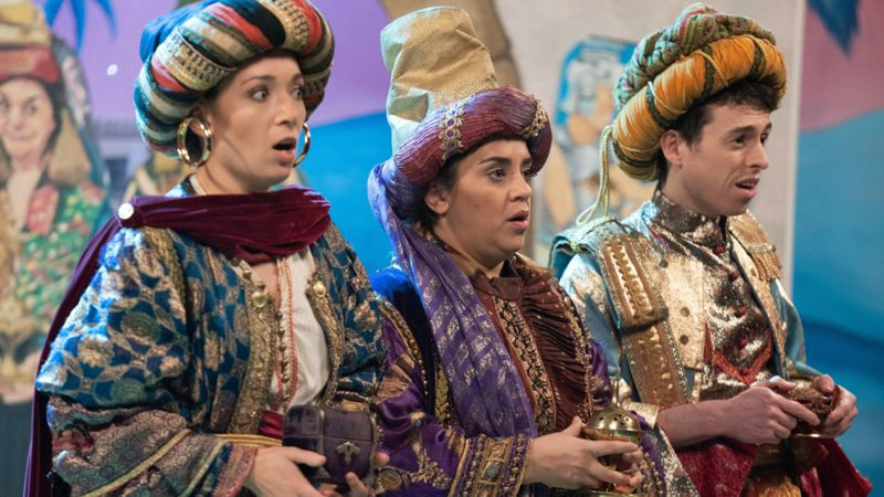 #GoesWrongShow is back this Christmas with #Nativity - looking forward to seeing what mishaps our brilliant @bryony_corrigan gets up to! @mischiefcomedy @bigtalk @BBCOne