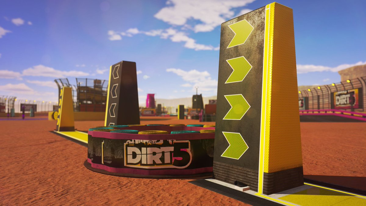 Time for another #DIRT5 #TuesdayTip 💭   In Playgrounds, use the Discover tools to find the exact arena you want. Check the different sections, or head to the Search tab to choose labels, event types, or even a specific name, to filter through all the incredible live creations 🖐️
