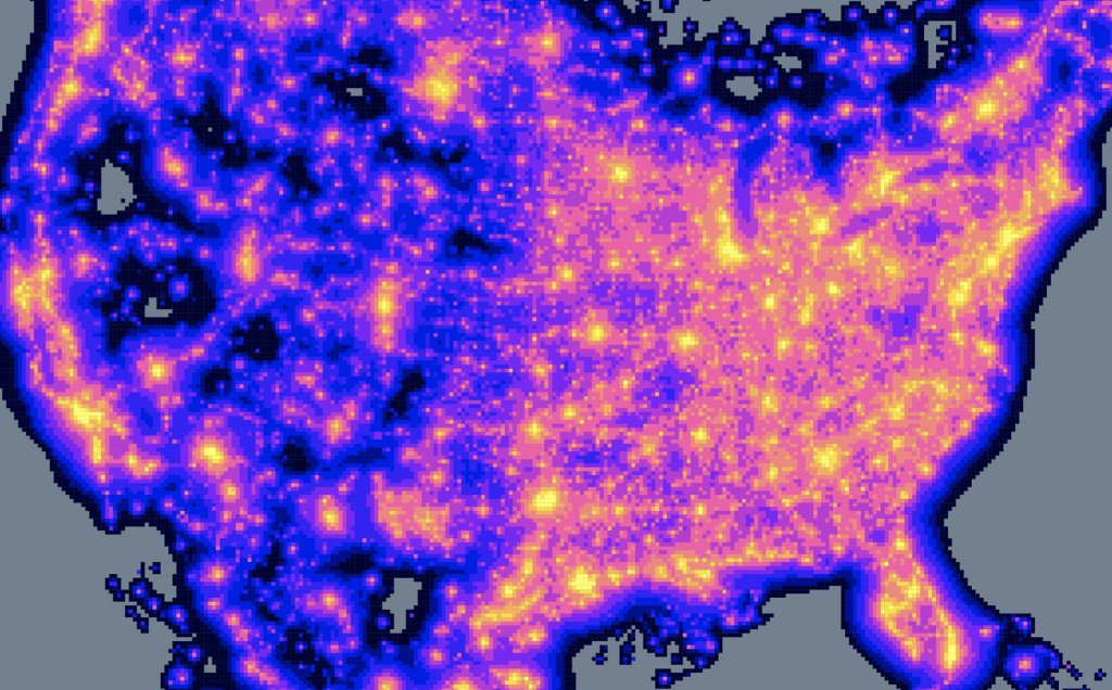 Light and noise pollution from humans are negatively affecting bird populations in the United States. Scientists used light data from the @NASA/@NOAA Suomi-NPP satellite to study how light pollution affected some bird species' ability to have more young.