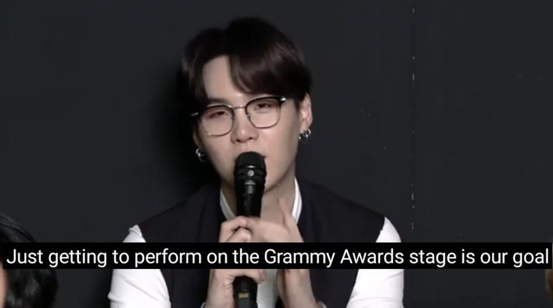 #GRAMMYs   If bts isn't nominated I'ma kick your a## b!tch   😂🤏
