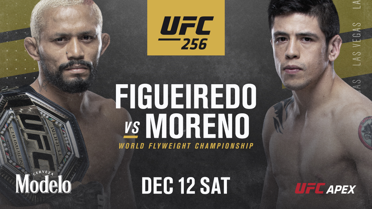 Straight back in there! 🏆  Deiveson Figueiredo putting his belt back on the line against Brandon Moreno at #UFC256! https://t.co/pwK6svFMZB