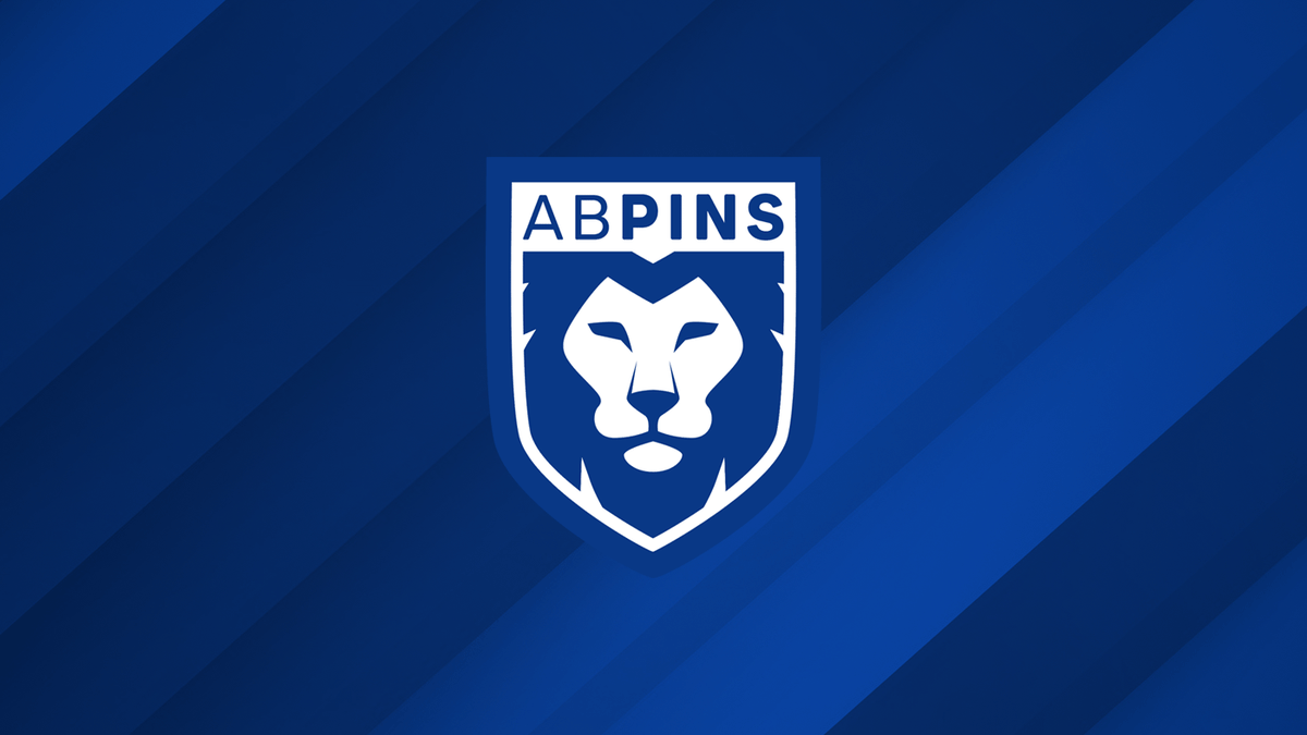 Logo for @ab_pins Custom pin badges coming soon. 👀  #Logo #Sports #Branding #GraphicDesign #RangersFC https://t.co/MoiIvE7okU