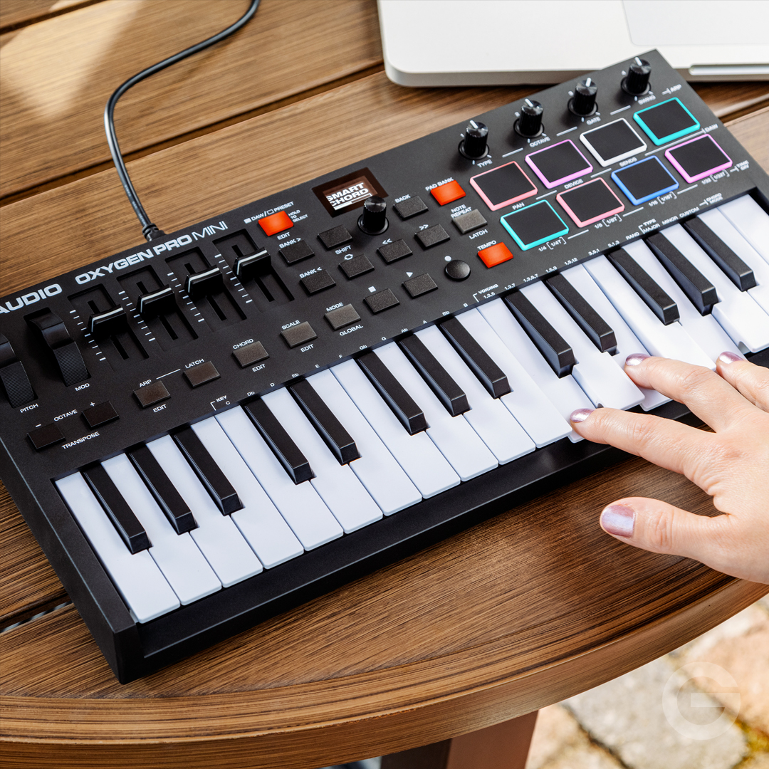 The new @M_Audio_ Oxygen Pro series is here. These multi-talented MIDI controllers are perfect for music production and performance, no matter what size your studio or live rig.   Find out more 👉