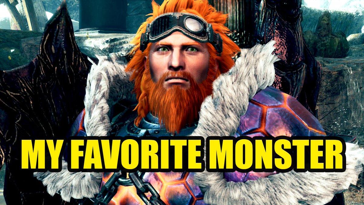Rurikhan - What's my Favorite Monster Hunter World Iceborne Monster -