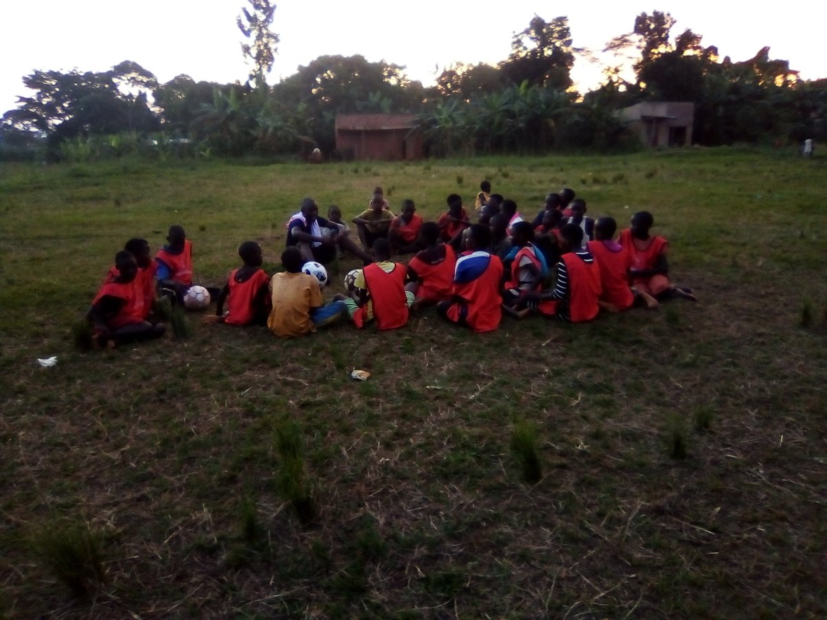 TEAM TALK We are coming for everything we have ever wanted. #SharedPassion #HuracanFcMuwangi Football and Education