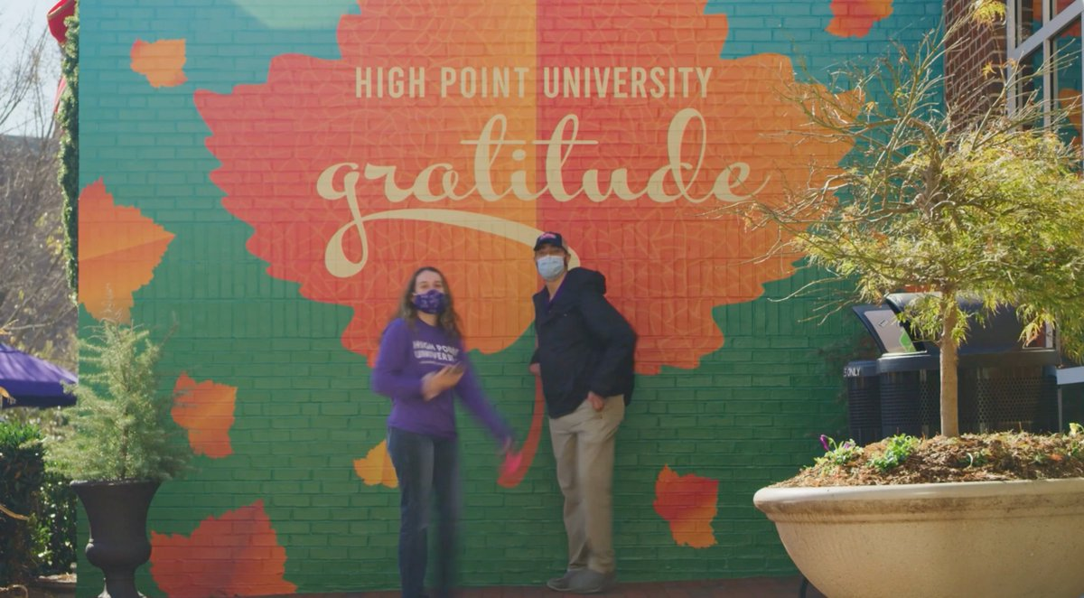 Grateful today and everyday for our #HPUFamily. Happy Thanksgiving! 💜🍁 #HPU365