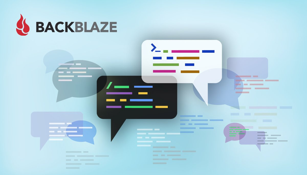 Terminology is important. Recently the @Backblaze engineering team went through a code change project to both make our code easier to understand, and address some internal problematic language.  Code and Culture: What Happens When They Clash https://t.co/WuS88tseAw via @backblaze https://t.co/ORBszB8cvj