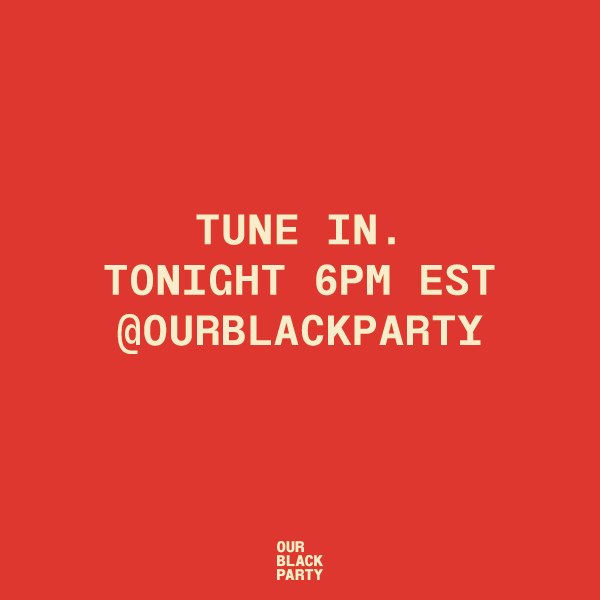 Tonight at 6pm EST join steering committee member @leawebb1014 and Mayor of Prairie View, TX, @brianerowland as they discuss what the Black agenda demands for us to be powerful in our democracy right here @ourblackparty. Tune in! #IGTV