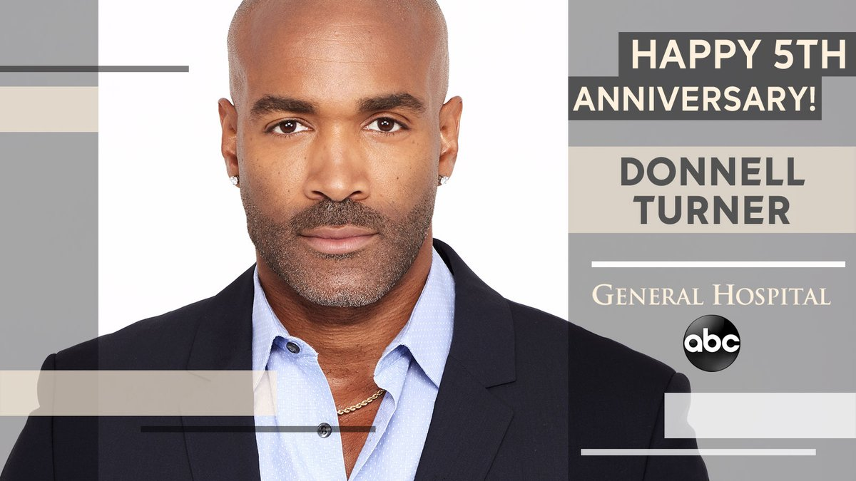 Curtis Ashford burst onto the scene on November 30th, 2015. Please help us congratulate @donnellturner1 on his 5th Anniversary at #GeneralHospital. Port Charles wouldn't be the same without him! #GH https://t.co/ULkPmtirh0