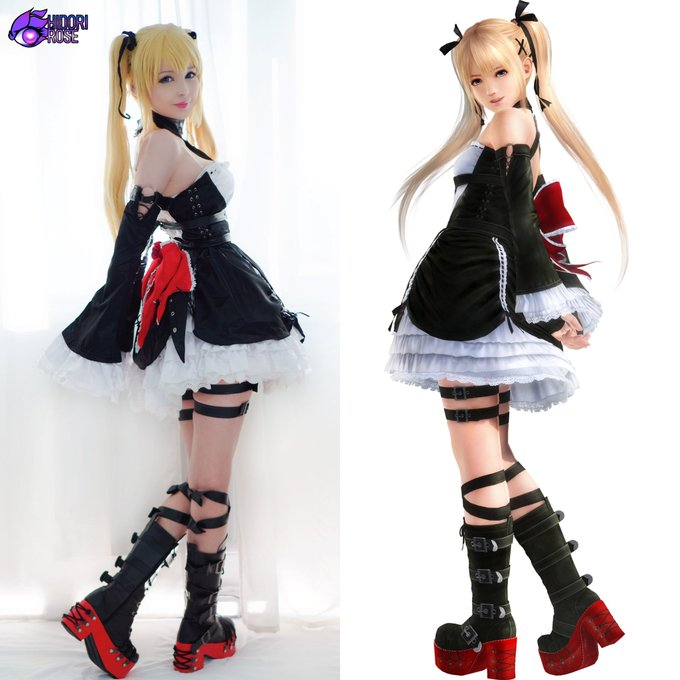 3D vs ... 3D? So happy with my latest Marie Rose cosplay project, I'll never get tired of cosplaying