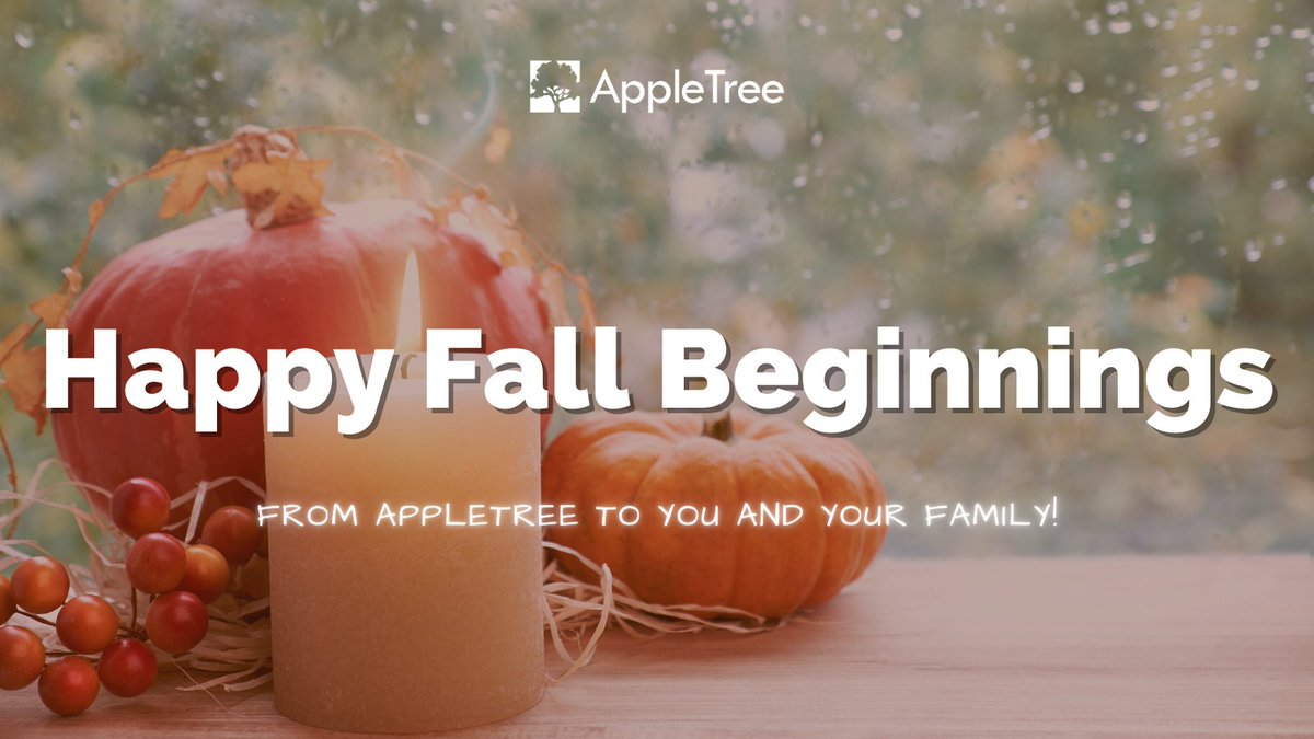 There is so much to be thankful for this year! We are taking the time out to be thankful for our AppleTree family.    #appletree #dc https://t.co/2vnx6sW06D