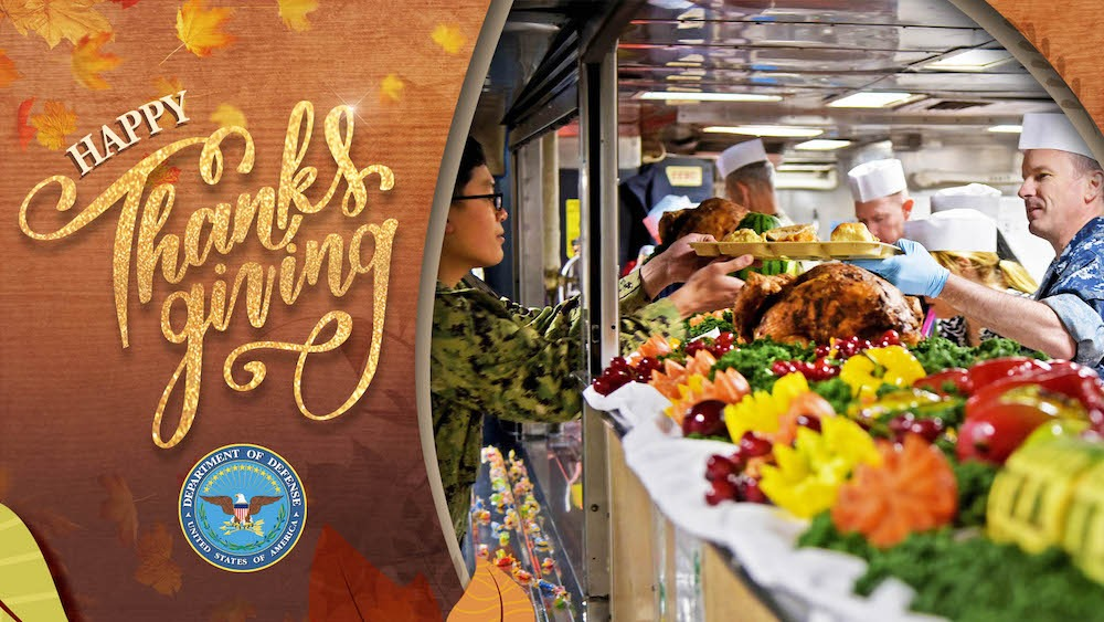From our hearts to yours, #HappyThanksgiving! During this time, please don't forget our service members who are serving away from home during the holidays. We know this year has been especially trying for many. We thank you for your service. https://t.co/isWtgweGIW