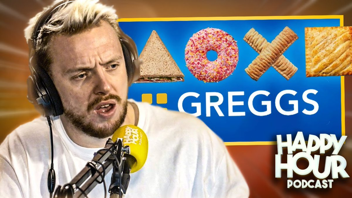 """So the PS5 has launched and divided opinion!   BUT have you guys heard about the collaboration they've done with Greggs?  The boys share their HONEST opinion on the PS5 and the Greggs x PS5 """"meal deal"""".  Leave the meal deals to us from now on, Greggs..."""