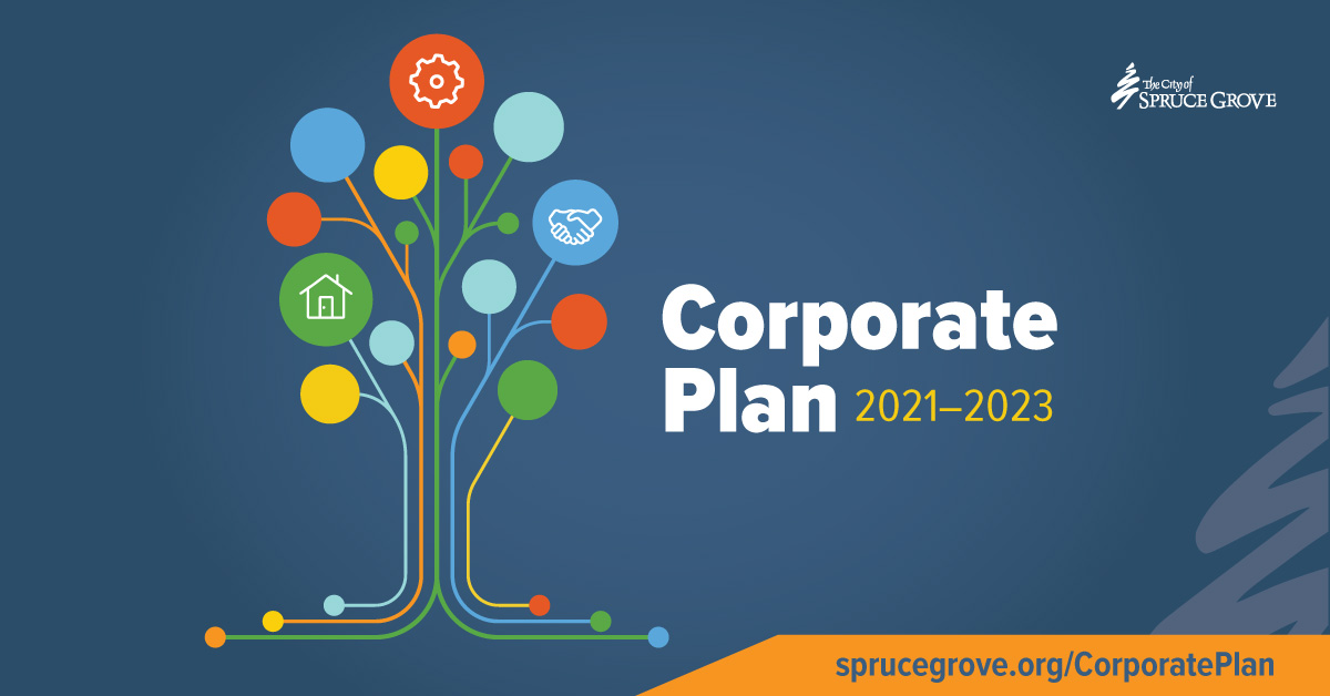 Council approves 2021-2023 Corp Plan for #SpruceGrove; plan reflects challenging times with small/dedicated tax increase to fund lifecycle maintenance & cost saving measures including salary freezes for Council/non-union staff. Details: bit.ly/2021-2023Corpo…