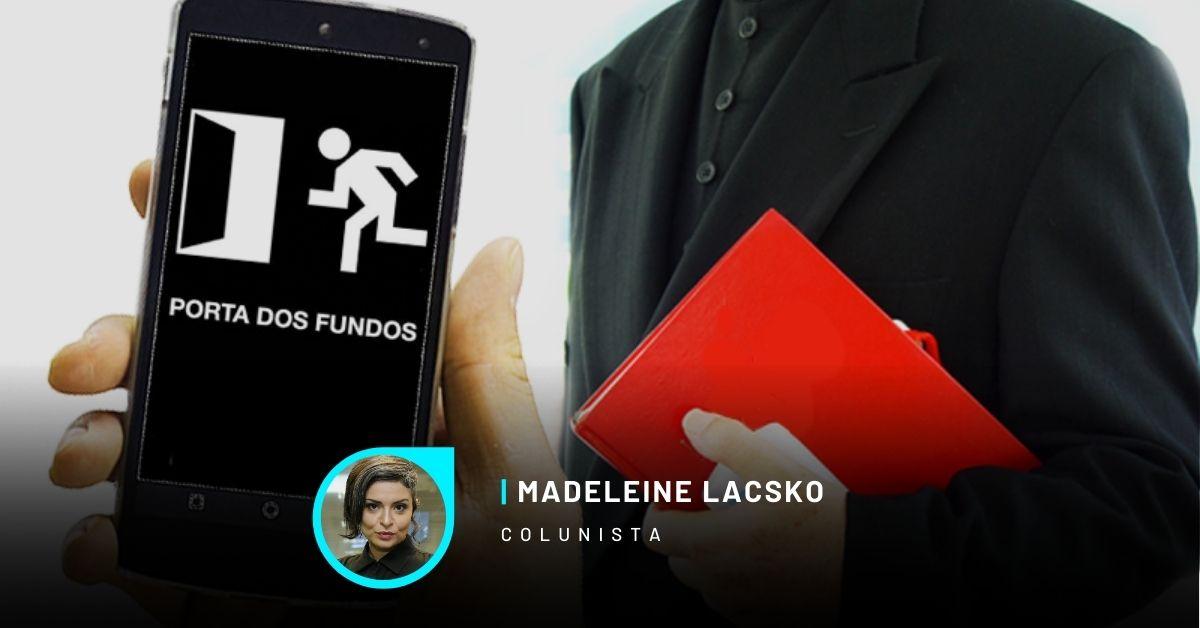 MADELEINE LACSKO - Porta dos Fundos, machismo e o manual prático do passapanista do bem:   @madeleinelacsko @vidaecidadania #Opiniao