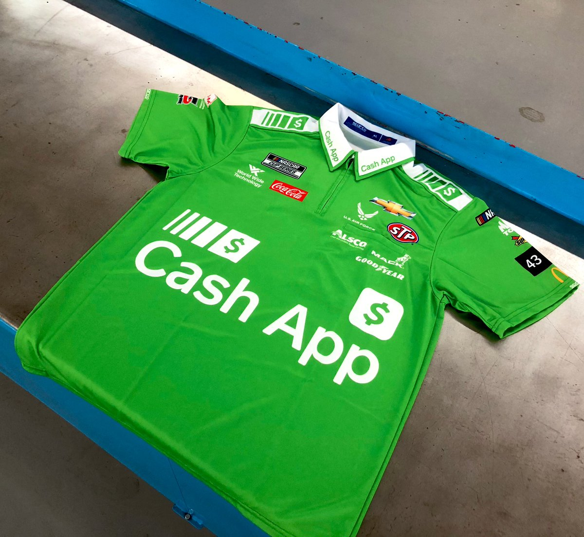 ✨GIVEAWAY ✨  Here's a chance to add this @CashApp crew shirt to your collection!  To enter:  1. Follow us @RPMotorsports  2. Like and RT this tweet  We'll select a winner when we reach 100K followers, be sure to tag your friends!